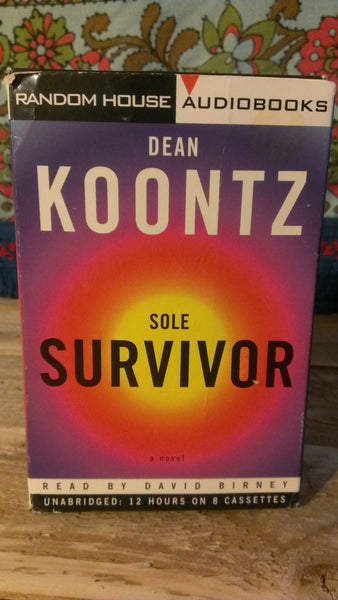 Dean Knootz - Sole Survivor Audiobooks on Cassette Tapes, FREE SHIPPING