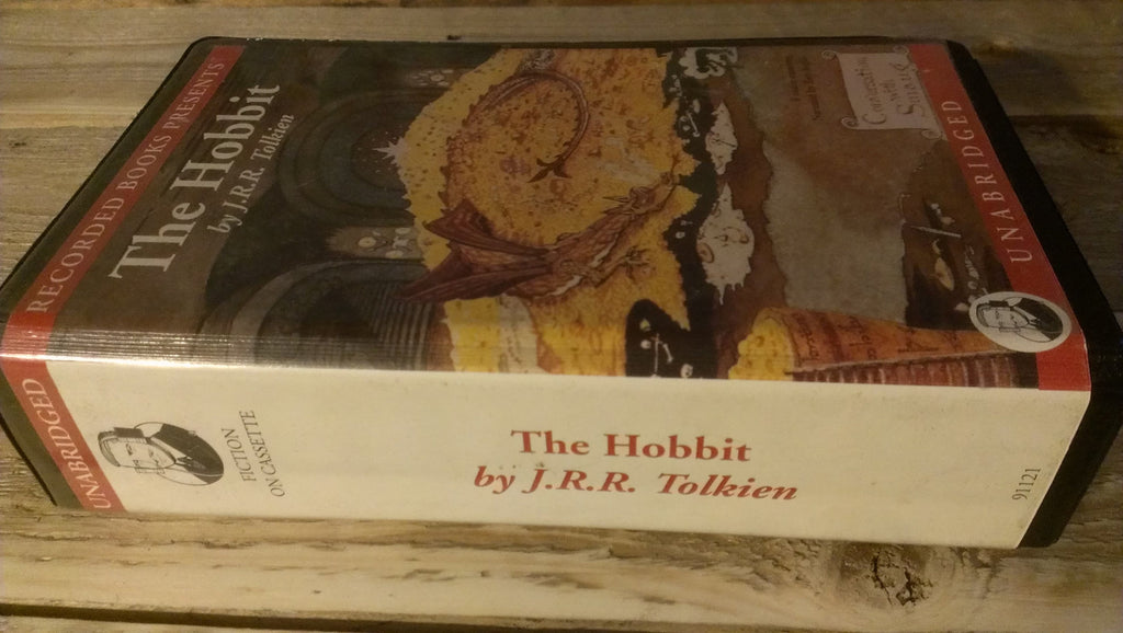 FREE SHIPPING The Hobbit by J.R.R. Tolkien on Cassette Tapes, Unabridged Audiobook, Books on Tape, Great Awesome Books!