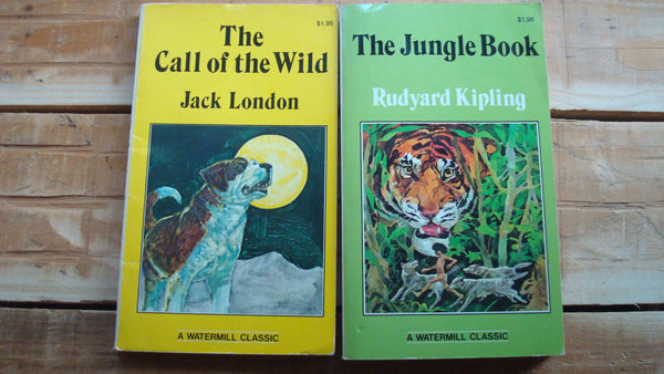 Two Books - The Call of the Wild & The Jungle Book
