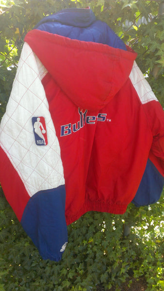 Vintage Washington BULLETS Starter Coat, Jacket, NBA, Vintage Sports, FREE Shipping