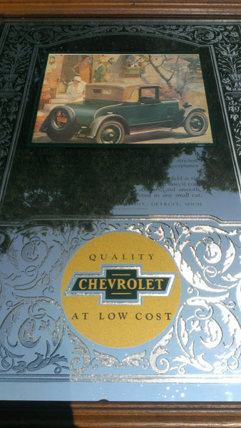 Chevrolet Mirror, Every Inch a Quality Car