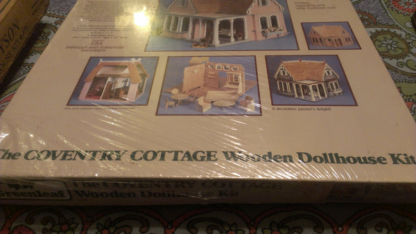 The Coventry DOLLHOUSE KIT, Greenleaf