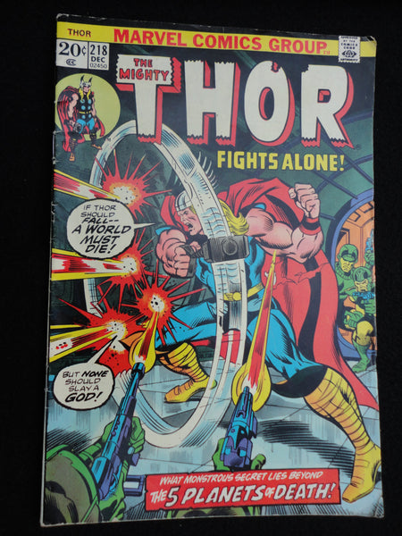 The Mighty Thor, December 1973, Vol 1 No 218, Bronze Age