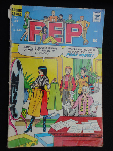 Pep January 1971, No 249, Bronze Age