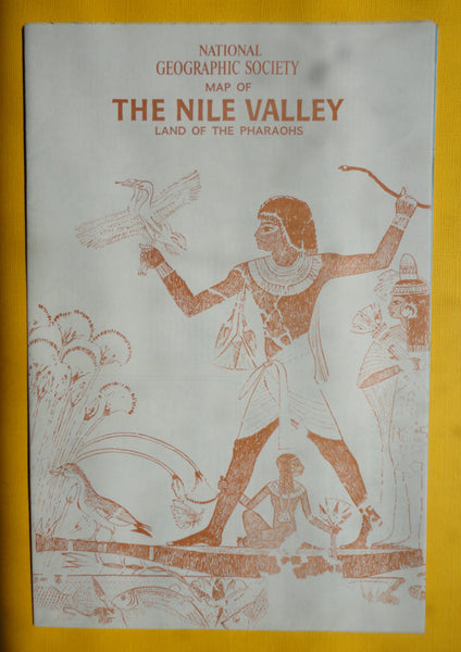 The NILE VALLEY - National Geographic Map