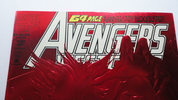 Avengers Comic Book, 64 page Anniversary Blockbuster