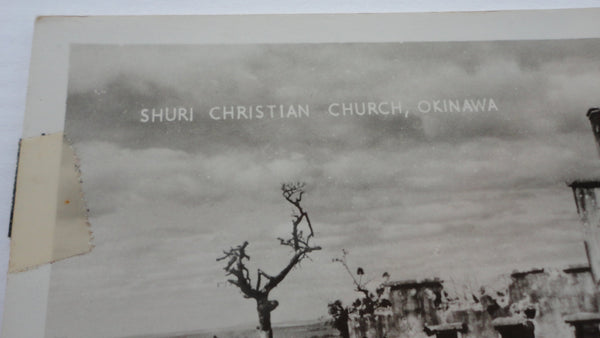 Okinawa, Shuri Christain Church, Postcard, FREE SHIPPING