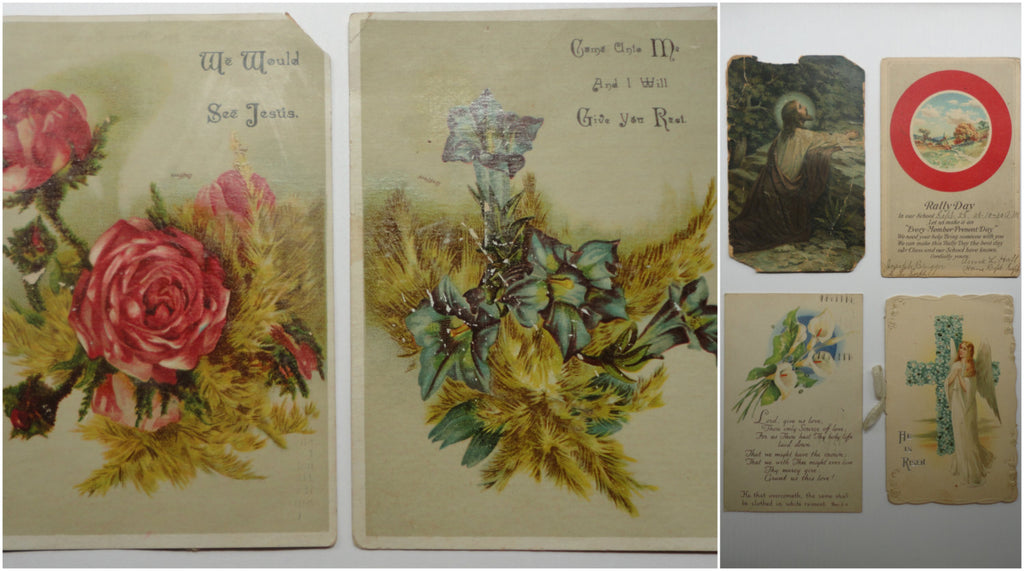 God Prayer Cards, Jesus, Religious, Postcards 6