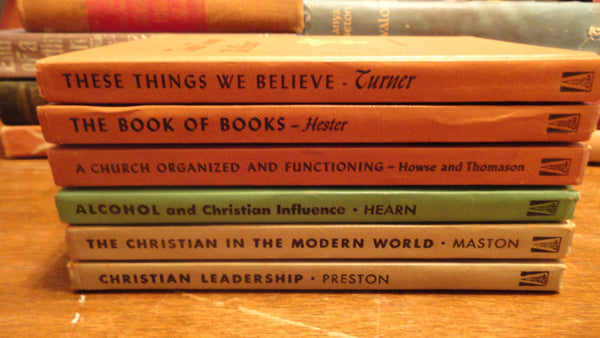 Lot of SIX Christian Books, Various Authors