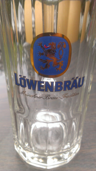 Lowenbrau Munchner Brau Tradition - Mug - Greman Beer - FREE SHIPPING