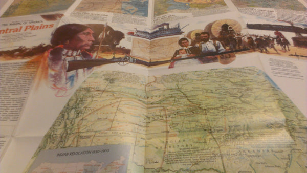 Central Plains, National Geographic, September 1985, FREE SHIPPING