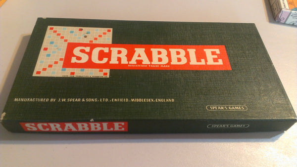 Scrabble - ORIGINAL Gameboard, Vintage Boardgames