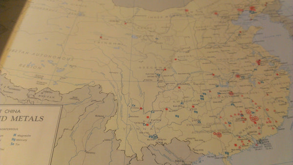 Communist China Map Folio, CIA - October 1967, 20+ Maps in Booklet, Military Memorabilia, 1960's Maps, military maps