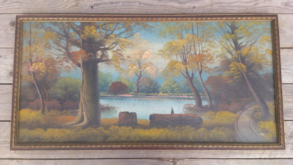 Antique Framed Painting