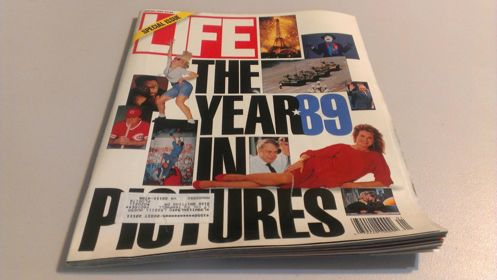 LIFE Magazine - Special Issue, Year in Pictures 89, January 1990