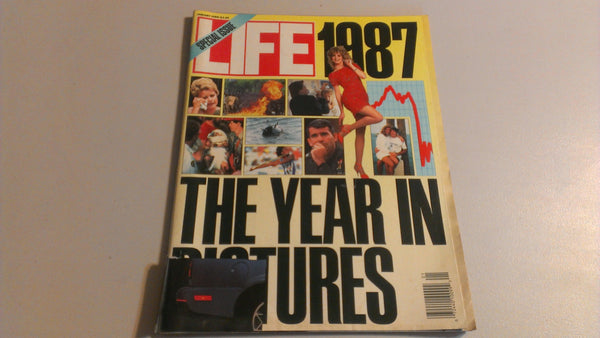 LIFE Magazine - Special Issue 1987 Year in Pictures  -  Free Shipping