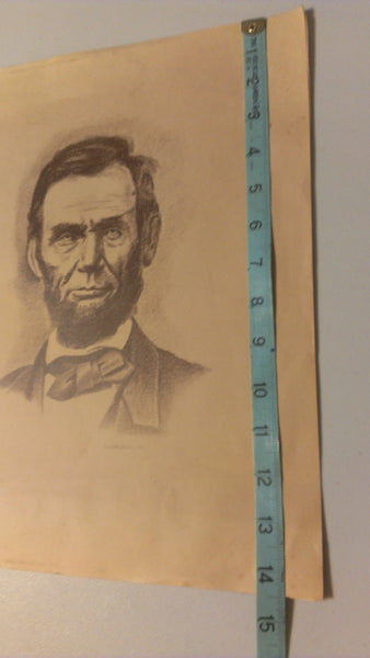 Abraham Lincoln by H Dibble