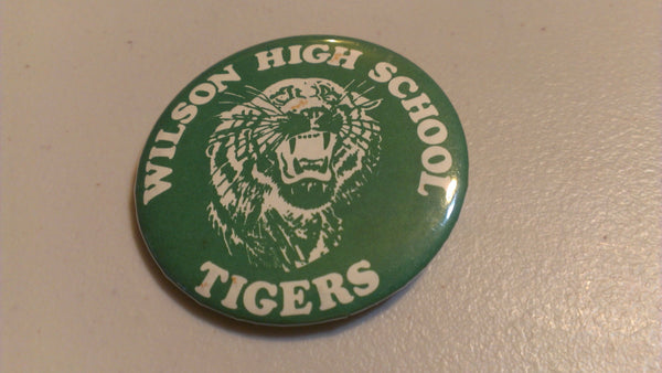 Vintage Button - Wilson High School Tigers