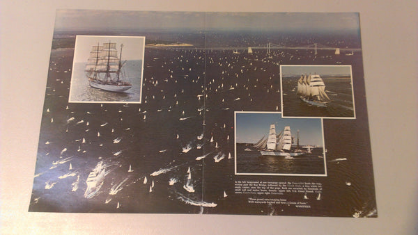 Vintage Ships, Boats, Magazine, advertisements, color photos! free shipping!!