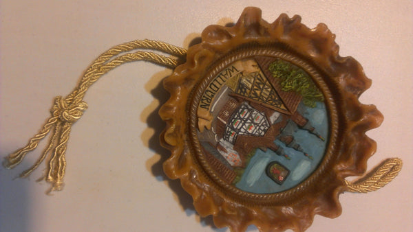 Walldurn German Wax Wall Hanging, made in Germany