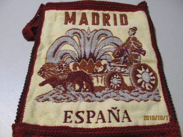 Madrid Espana Purse, free shipping