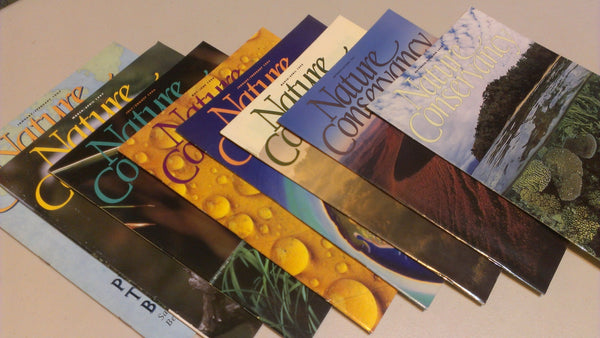 Nature Conservancy Magazines, back issues, free shipping