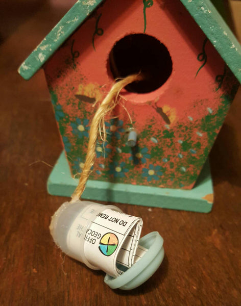 Birdhouse Decorative GEOCACHE, FREE Shipping