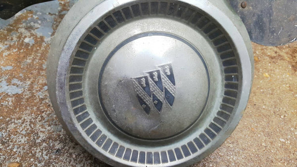 Buick Hubcap, Vintage 1960s, Original Metal Wheel Cover, Hub Caps, classic cars, Automotive, FREE Shipping