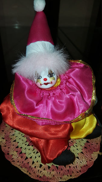 Vintage Clown Figure, free shipping