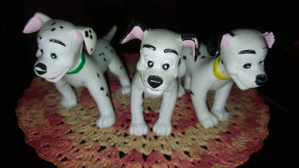 McDonalds 101 Dalmation, 1990's Vintage Toys, free shipping