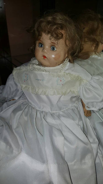 Antique Porcelain Doll, with character, FREE Shipping