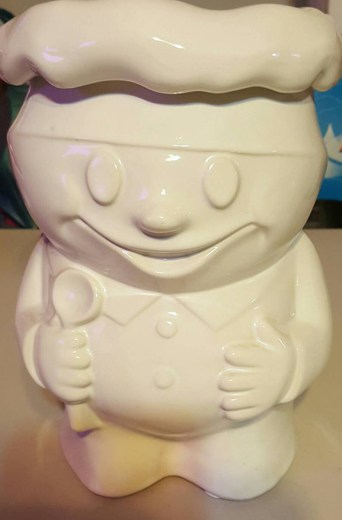 McCoy Cookie Jar, Bobby the Baker, Pillsbury dough boy, RARE Vintage Collectibles, FREE SHIPPING!