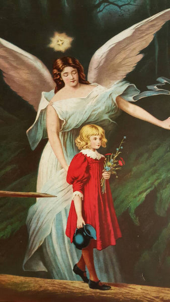 1900's Guardian Angel print, large poster