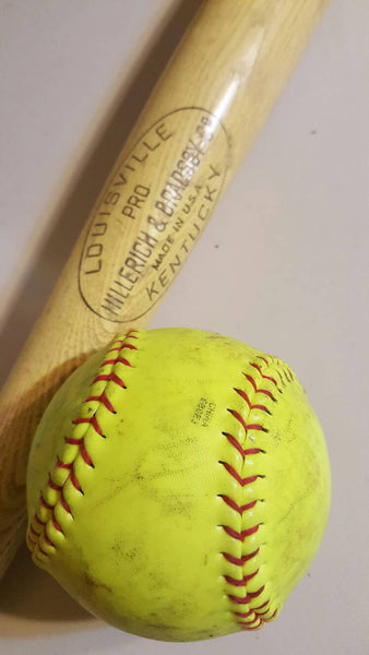 Combo Geocaches, Bat and Ball, Baseball, Softball