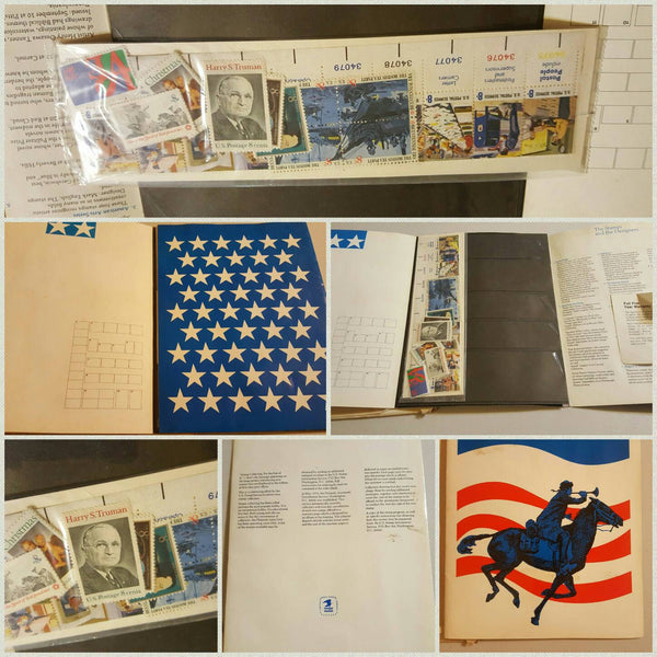 1973 USPS STAMP Booklet, unopened