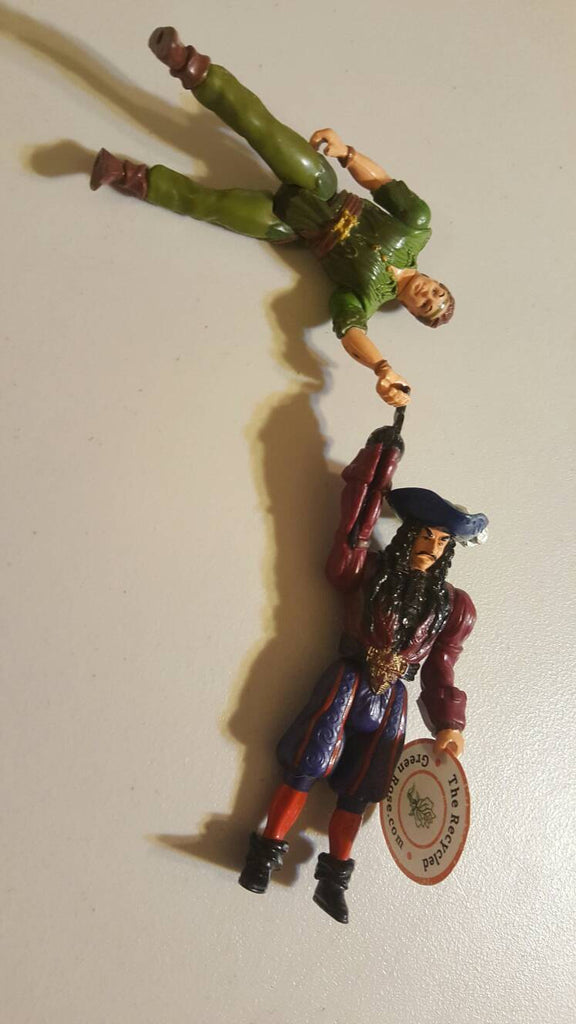 Peter Pan and Captain Hook, Neverland
