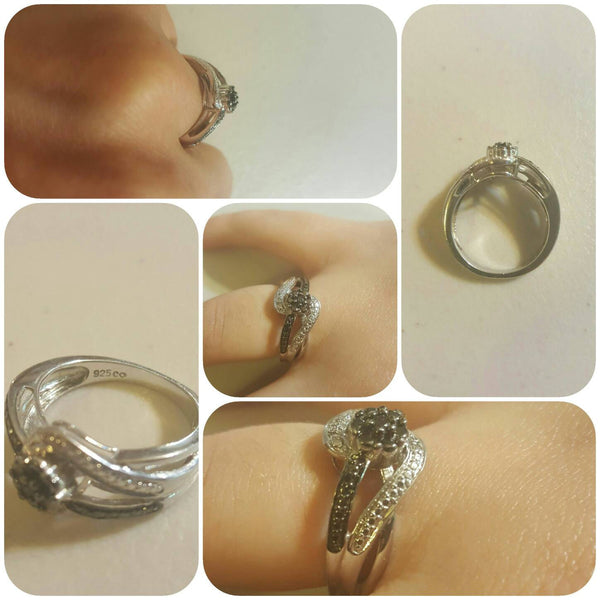 Ladies Ring, Size 7, .925 Silver, FREE Shipping