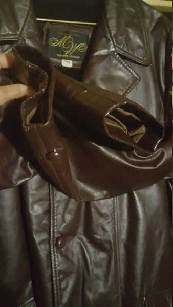 Genuine Leather Jacket, vintage Montgomery Ward