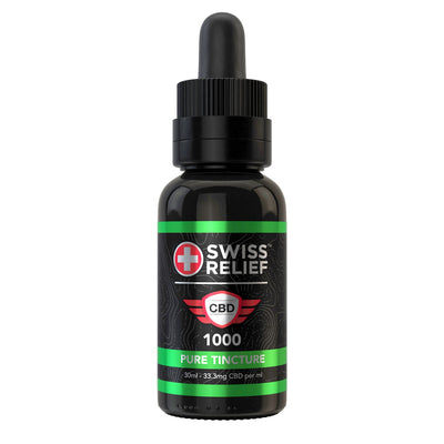 Swiss Relief CBD Tincture - Pure