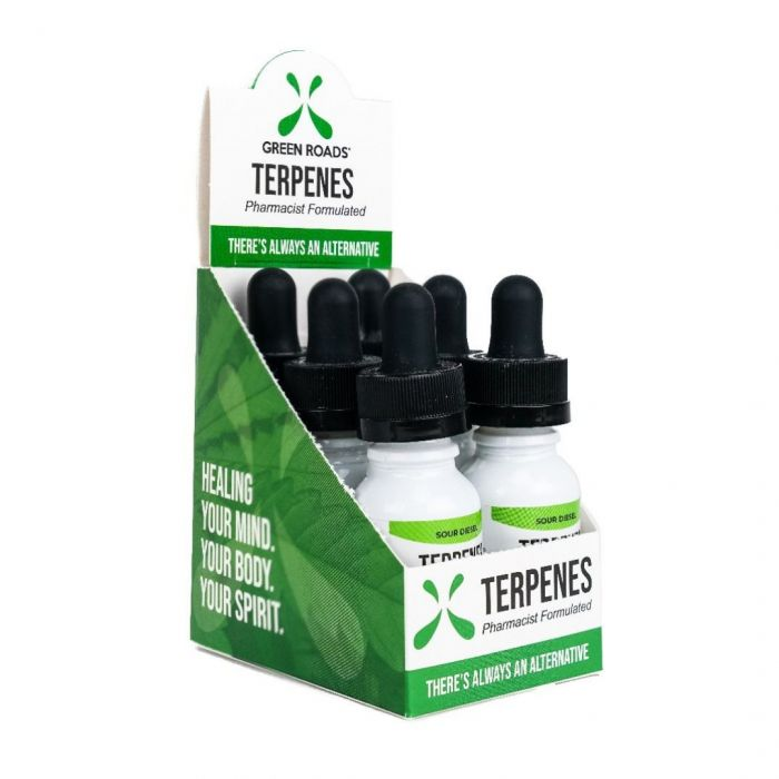 Green Roads 100MG CBD Terpenes Oil – Sour Diesel