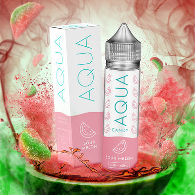 Aqua Candy E Juice | Sour Melon By Marina Vape by Marina Vapes Available on ELiquid Universe