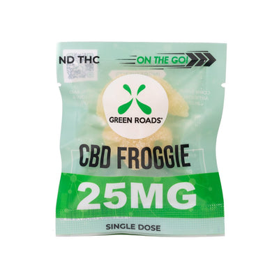 Green Roads CBD Froggie On The Go– 25MG
