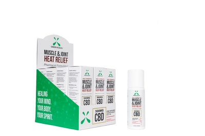Green Roads CBD Muscle & Joint Heat Relief 500MG