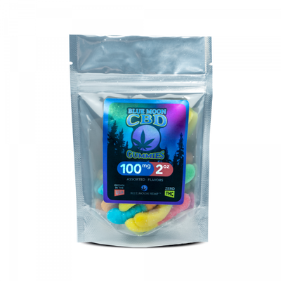 Blue Moon Hemp – CBD Gummies 50mg - 100mg