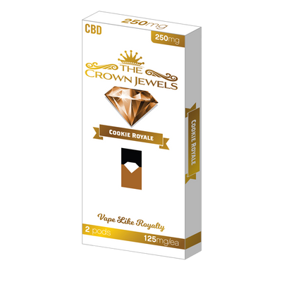 CBD Crown Jewels 250MG Pods - 2 Pack