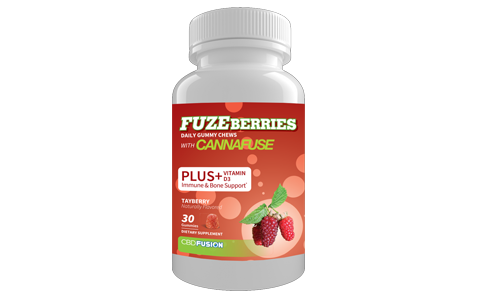 CBD Fuzeberries - Tayberry Gummies On E Liquid Universe