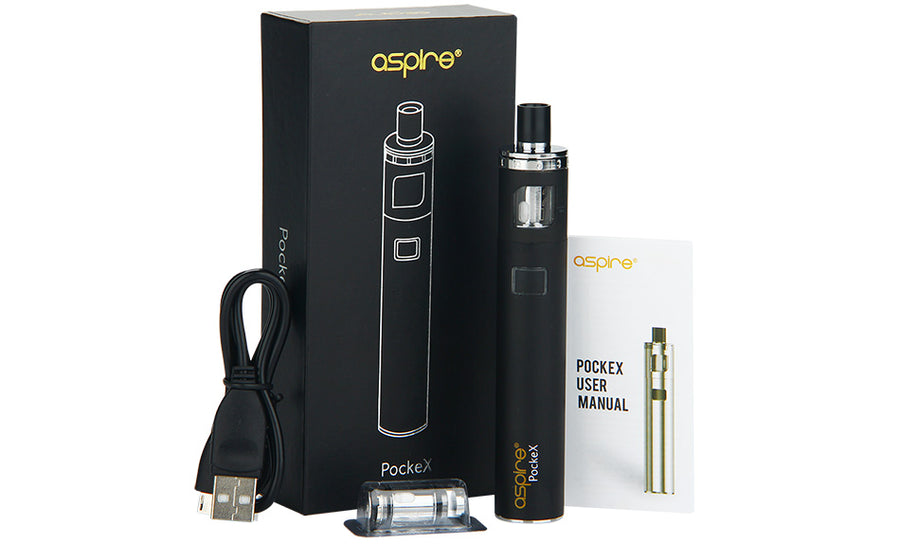 Aspire PockeX Pocket AIO 1500mAh Starter Kit by Aspire on E Liquid Universe. Premium E Juice Brands & Accessories at Low Prices