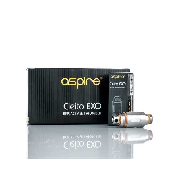 Aspire Cleito EXO Coils 0.16 OHM 5 Pack by Aspire on E Liquid Universe. Premium E Juice Brands & Accessories at Low Prices