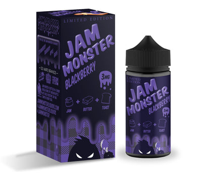 Jam Monster BlackBerry EJuice - Jam Monster Limited Edition by Jam Monster on E Liquid Universe. Premium E Juice Brands & Accessories at Low Prices