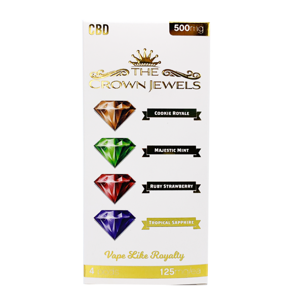 CBD Crown Jewels Pod 500mg (4-Pack)